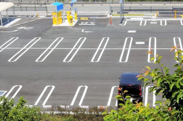 駐車場のレイアウト