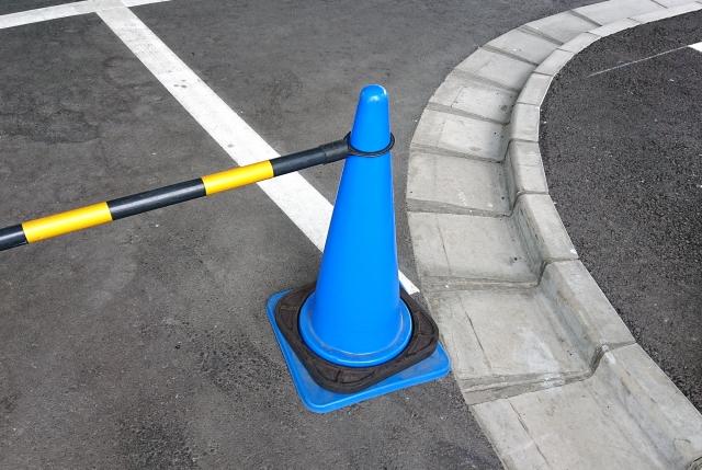駐車場の閉鎖